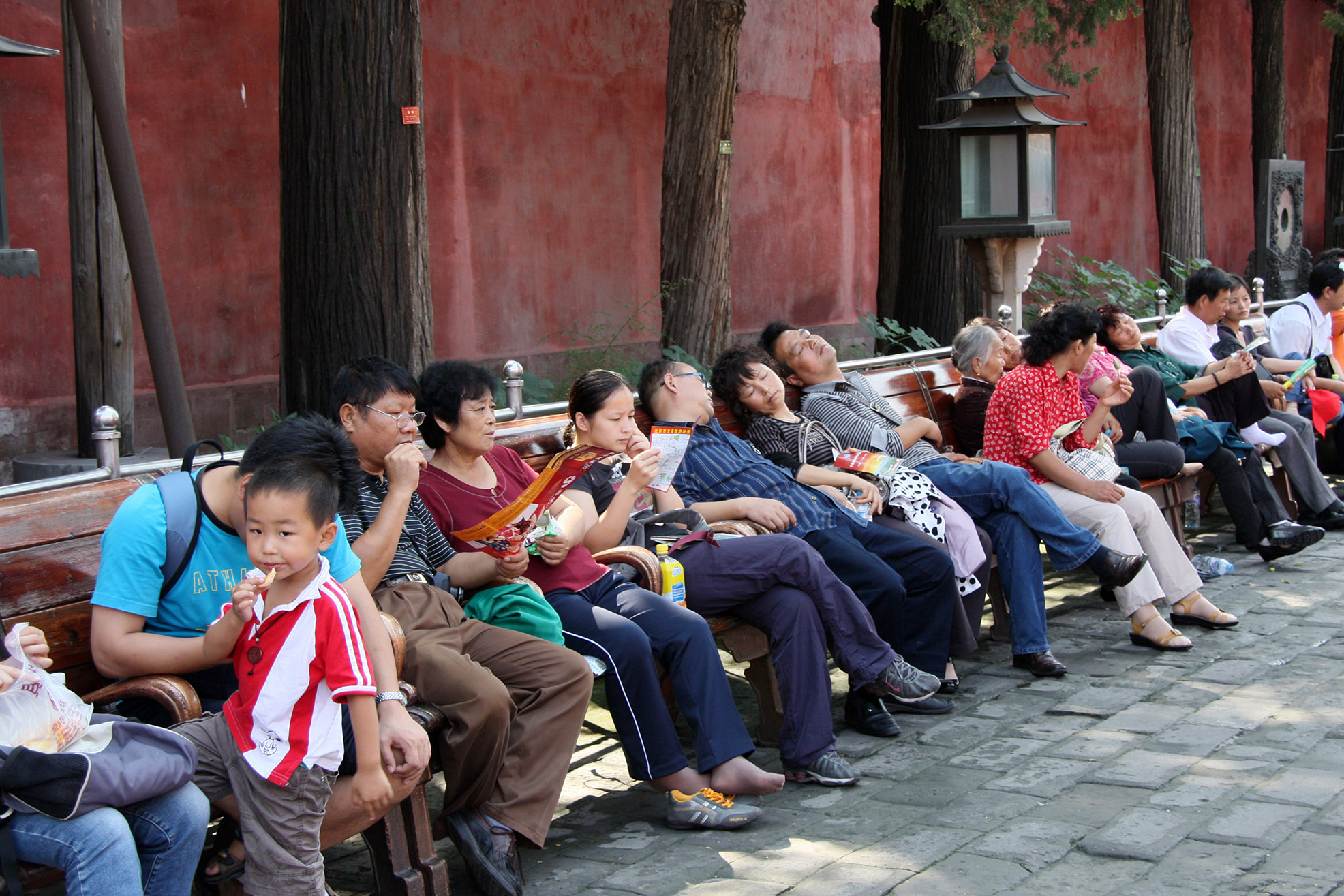 Forbidden_City_23.jpg - The forbidden city. Very important for chines. Take a nap...